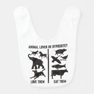 Animal Lover or Hypocrite? Bib