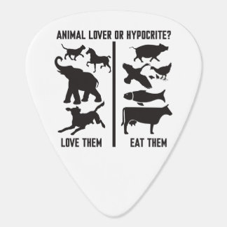 Animal Lover or Hypocrite? Guitar Pick