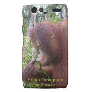 Animal Lover Orangutan Fan Droid RAZR Cover