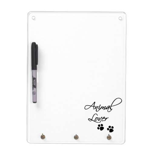 Animal Lover-Paw Prints Dry-Erase Whiteboard