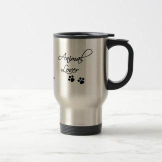 Animal Lover-paw prints Travel Mug