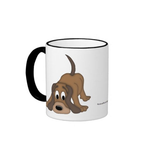 Animal Lover-Paws and Puppy Dog Coffee Mug
