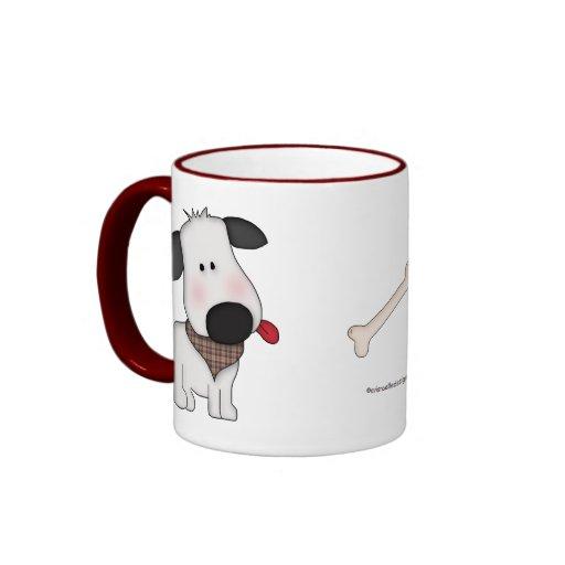 Animal Lover-Paws and Puppy Coffee Mug