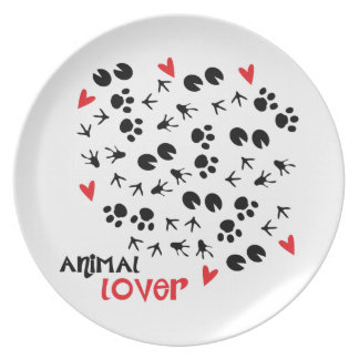 Animal Lover Plates