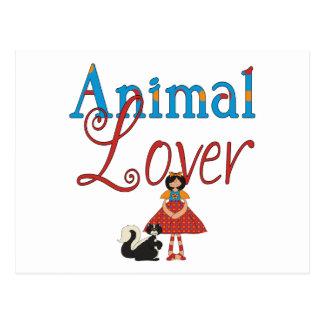 Animal Lover Postcard