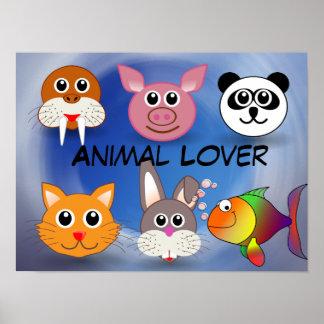 Animal Lover Poster