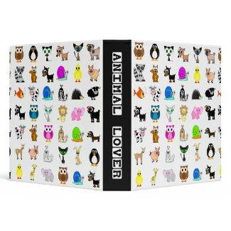 Animal Lover School Binder / Photo Binder (TBA) binder
