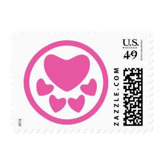 Animal Lover Sign Pink Postage