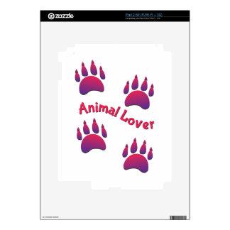 Animal Lover iPad 2 Skins