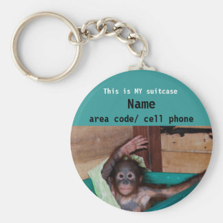 Animal Lover suitcase ID tag Key Chain