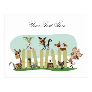 Animal Lovers Postcard