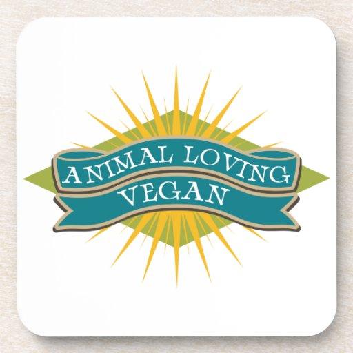 Animal Loving Vegan Coaster