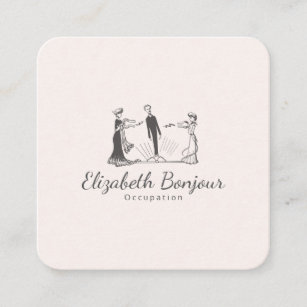 Christmas thank you business cards templates zazzle animal magnetism papersizeshape options square business card colourmoves