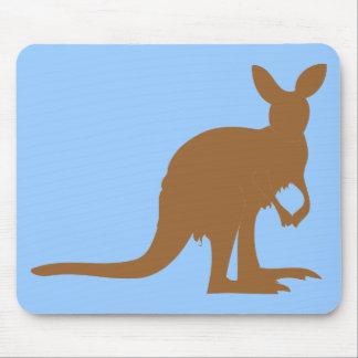 Animal marsupial del arte de KangaROOS Australia d Alfombrillas De Ratones