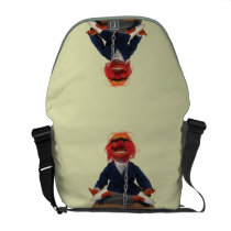 Animal Meditating Courier Bag