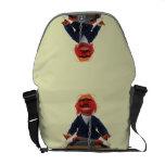 Animal Meditating Messenger Bags