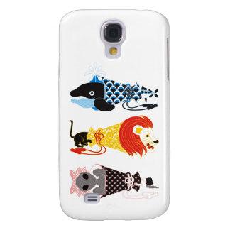 Animal megaphone…Fish cat woman (ANIMAL MEGAPHONE Samsung S4 Case