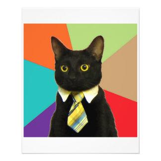 "Animal Meme del consejo del coche del negocio Folleto 4.5"" X 5.6"""
