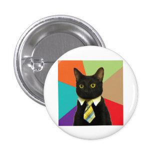 Animal Meme del consejo del coche del negocio Pin Redondo De 1 Pulgada