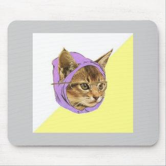 Animal Meme del consejo del gato del gatito del in Alfombrillas De Ratón