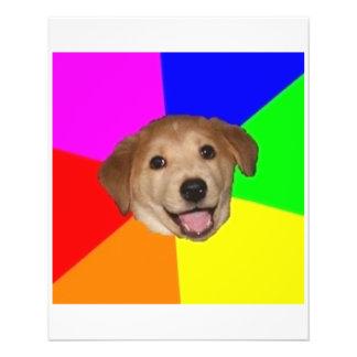 "Animal Meme del consejo del perro del consejo Folleto 4.5"" X 5.6"""