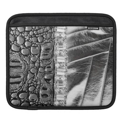 Animal Metallic Leather Rhinestone Laptop Sleeve iPad Sleeves