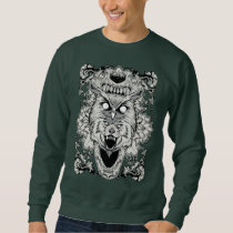 Animal metamorphosis sweatshirt