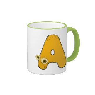 animal monogram - A Ringer Mug