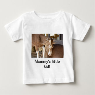 Animal Mother and Baby Goat Tee Shirt