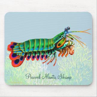 Animal Mousepad del filón del camarón de predicado Tapetes De Ratones