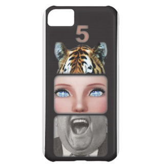 Animal Mouth Mask Case For iPhone 5C