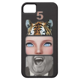 Animal Mouth Mask iPhone 5 Cases