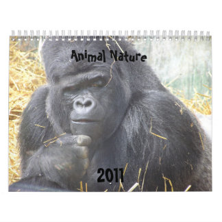 Animal Nature 2011 Calendar