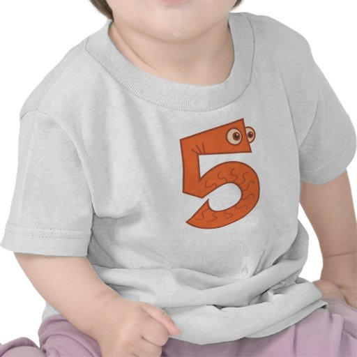 Animal number 5 t-shirt