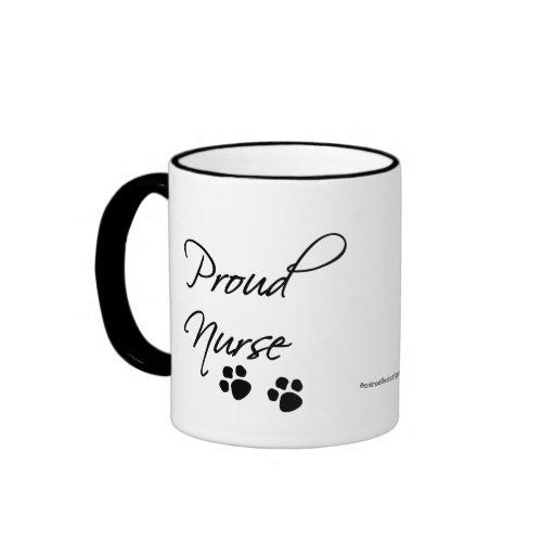 Animal Nurse Pride-with paw prints. Coffee Mug