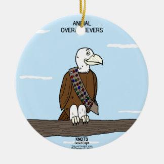 Animal Overachievers Ceramic Ornament