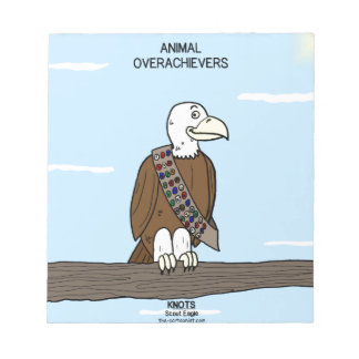 Animal Overachievers Notepad