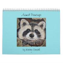Animal Paintings Calendar