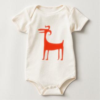 Animal Paläo Indian paleo native american animal Baby Bodysuit