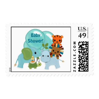 Animal Parade Baby Shower APK elephant hippo lion Postage
