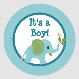 Animal Parade Baby Shower sticker APK#4 elephant
