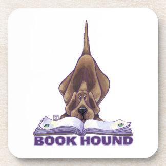 Animal Parade Book Hound Drink Coaster