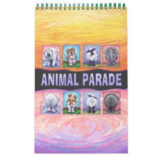 Animal Parade Calender Calendar