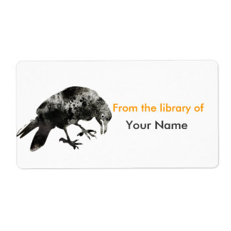 Animal Parade -  Crow Personalized Shipping Labels