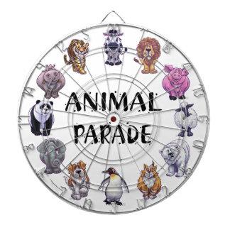 Animal Parade Groups Dart Board