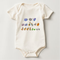 Animal Parade Organic Baby Bodysuit