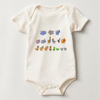Animal Parade Organic Baby Bodysuit