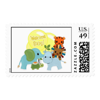 """Animal Parade """"Welcome Baby!"""" #5 yellow APK Postage"""