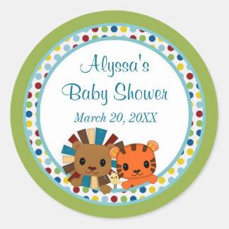 Animal Parade ZOO Baby Shower sticker APK#1