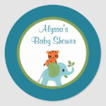 Animal Parade ZOO Baby Shower sticker APK#2 tiger